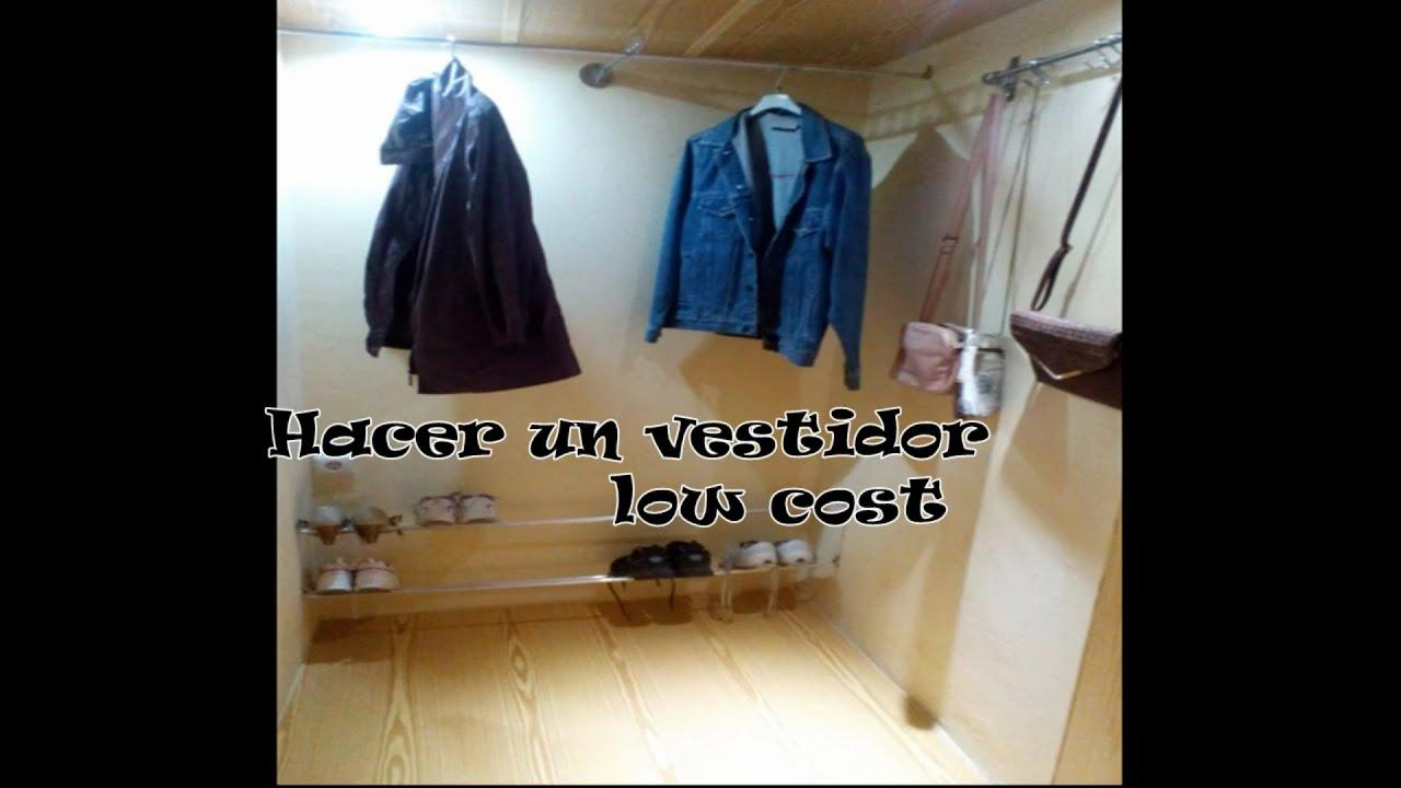 Cmo Hacer Un Vestidor Interesting Ideas Para Un Vestidor With  ~ Cuanto Cuesta Hacer Un Vestidor