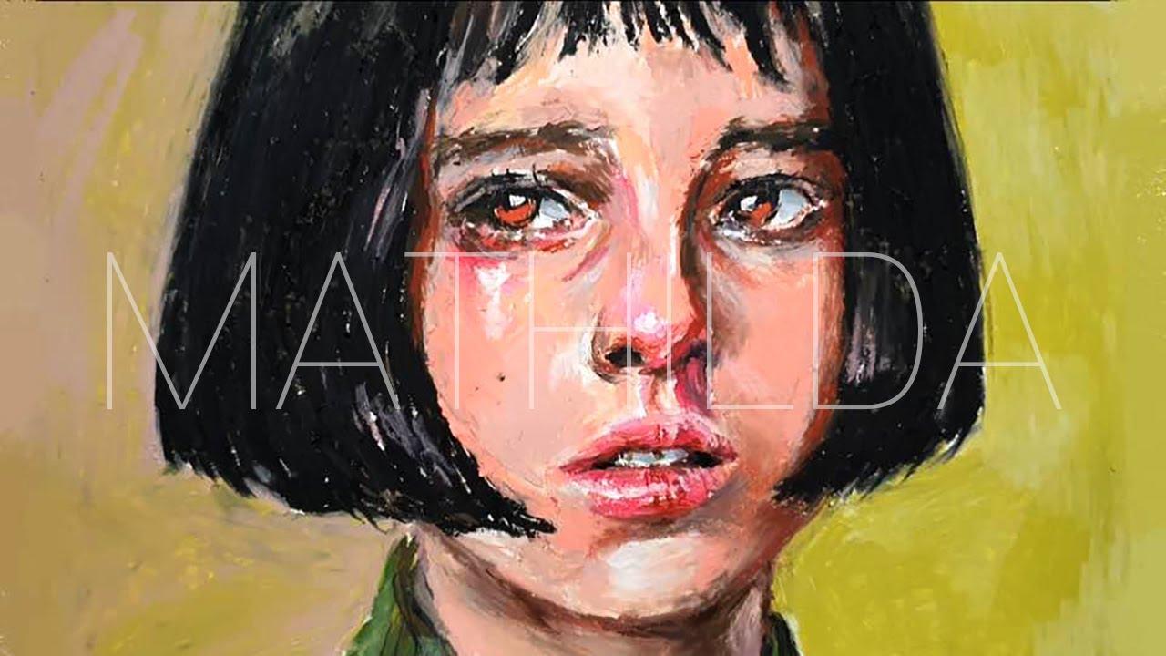 오일파스텔로 레옹 마틸다그리기 / Drawing Mathilda with Oil Pastel