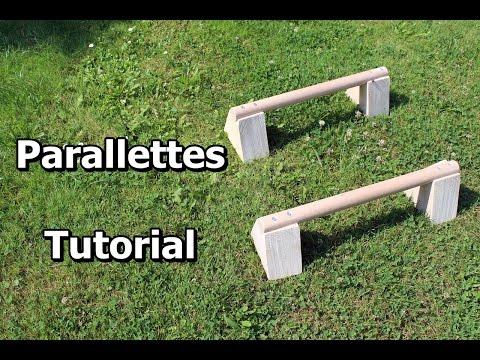 Parallettes-Tutorial: Wie baue ich mir Parallel-Barren aus Holz (Anleitung)