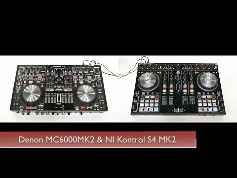 NI Kontrol S4 MK2 and Denon MC6000MK2