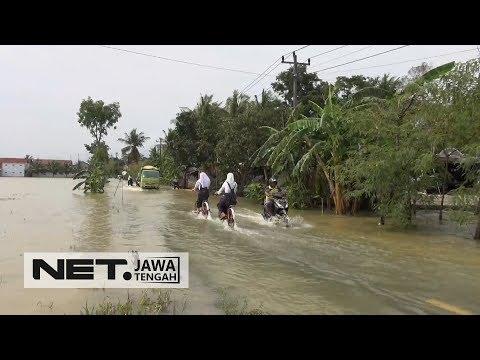 Hujan Deras, 7 Desa di Cilacap Tergenang Banjir - NET JATENG