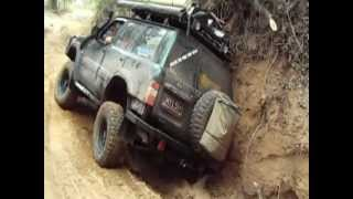 crazy nissan driver takes wrong track, cape york 2012