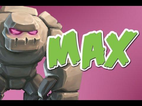 MAX GOLEM RAID |  Clash of Clans