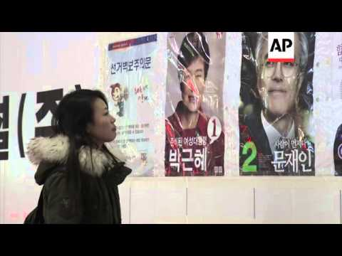 Defector from NKorea prepares to cast vote in an election for first time