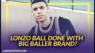 Lakers NewsFeed: Lonzo Ball and His Brothers May Be Done With Big Baller Brand
