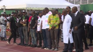 Thousands pay tribute to the Ivorian star DJ Arafat after death | AFP