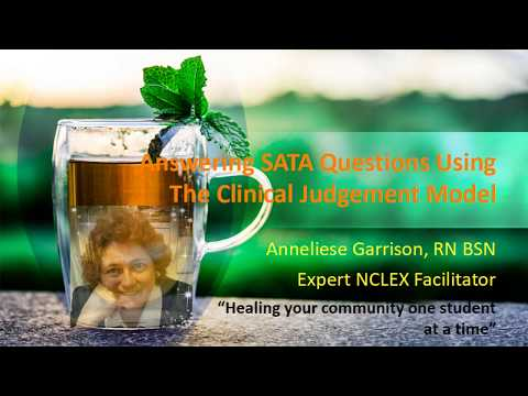 Nclex Tutor  Sata  Loss & Grief Using Clinical Judgment Model