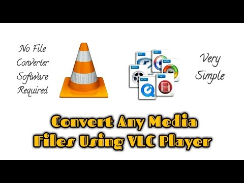 how to convert movie file to play in vlc