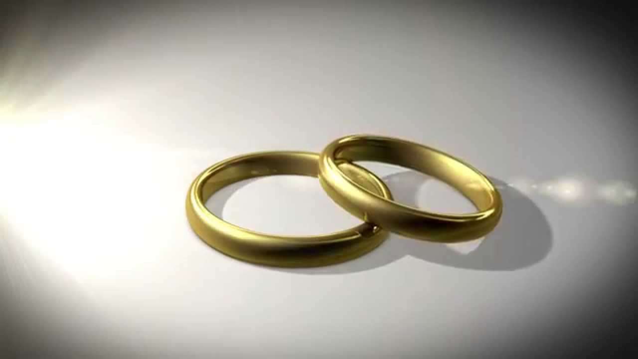 abstract background wedding rings youtube