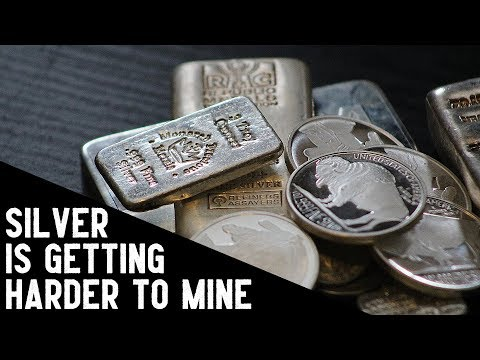 Silver Miners Continue To Experience Falling Ore Grades