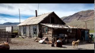 village Beltir in Gorny Altai, Russia
