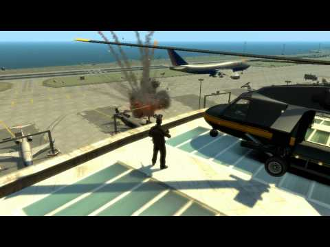 GTA IV - M.A.H - Top 10 Helicopter Takedowns (HD)