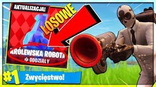 *LOSOWA KRÓLEWSKA ROBOTA*! NOWY TRYB GRY! | Fortnite - Battle Royale