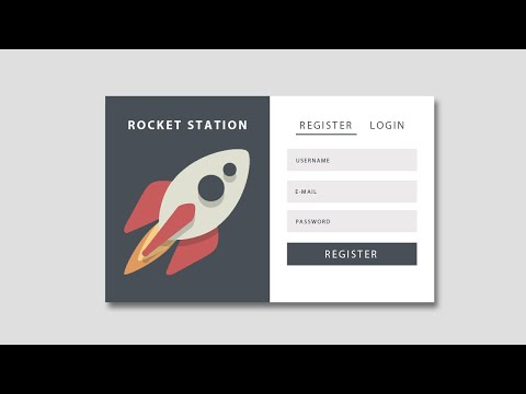 Registration/Login Form Using HTML CSS And Jquery - Registration Form - Login Form