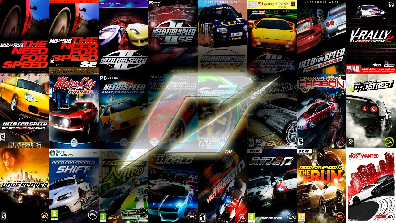 The Need For Speed History 1994 2012 Must Watch In Fullscreen HD