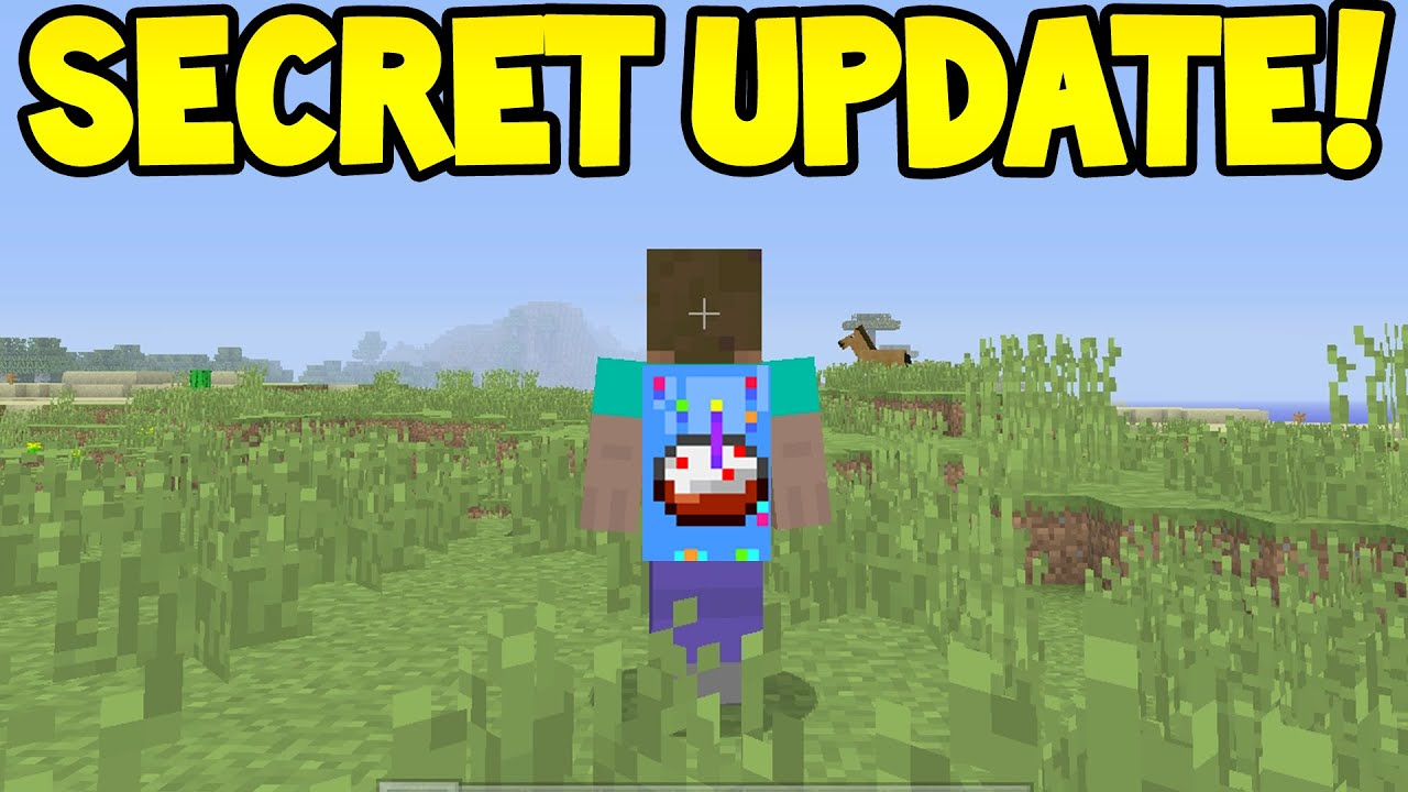 Minecraft Xbox One - TU12 Update! OUT NOW?/ SECRET COMING!!