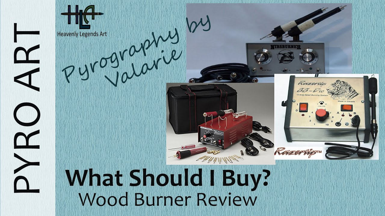 Pyrography: What Wood Burner should I buy? 3 Wood Burner Reviews and Artist  Introduction ☆