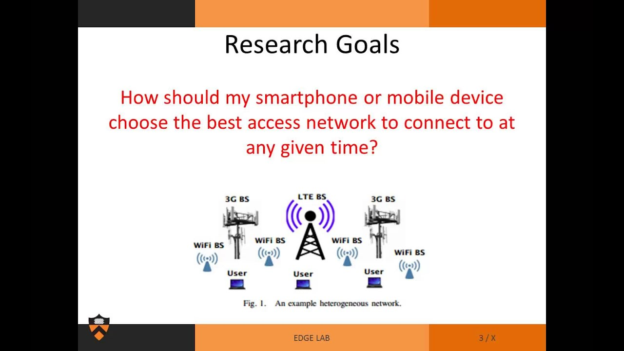 Radio access technology selection for heterogeneous wireless networks -  Michael Wang