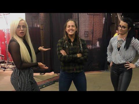 Next Two days on My YouTube WWE Liv Morgan Ru Riott Sarah Logan Funny Moments