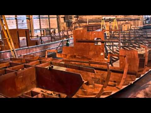Work on Barge Lucie Continues at Piper Boats