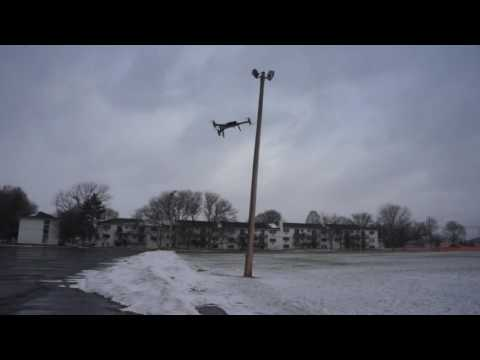 Custom Built Y6 Drone For Woods Hole Oceanographic Institute Testing Extreme Wind