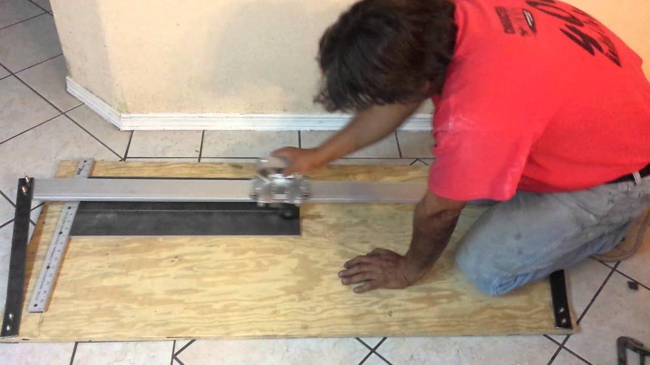 Cortadora de ceramica caserahome made tile cutter youtube cortadora de ceramica caserahome made tile cutter dailygadgetfo Images