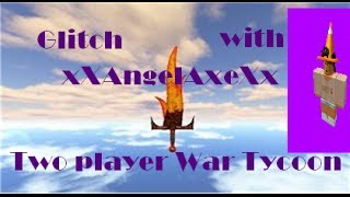 Roblox FF Glitch Two Player War Tycoon (Removed Team)