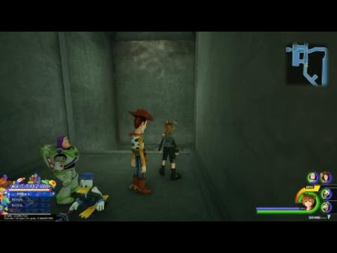 Where To Find Toy Box Lucky Emblem 7 Lower Vents Kingdom Hearts 3 Youtube