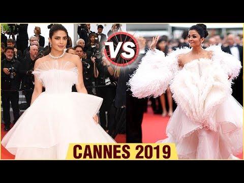 Cannes 2019  Aishwarya Rai VS Priyanka Chopra Fashion Face Off  Cannes Film Festival 2019