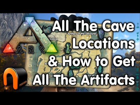 Ark Cave Locations & How To Get All The Artifacts