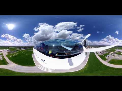 360 Grad Video Segelfliegen