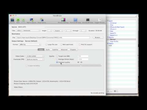 How to Convert MTS video to M4V for editing