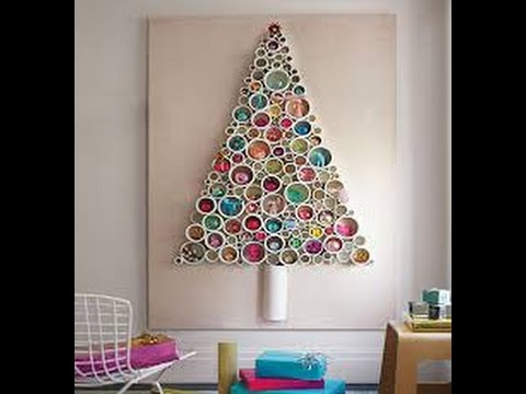Ideas for a non traditional christmas tree youtube for Non traditional christmas tree ideas