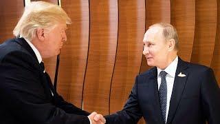 Так в Гамбурге встретились Трамп и Путин | НОВОСТИ
