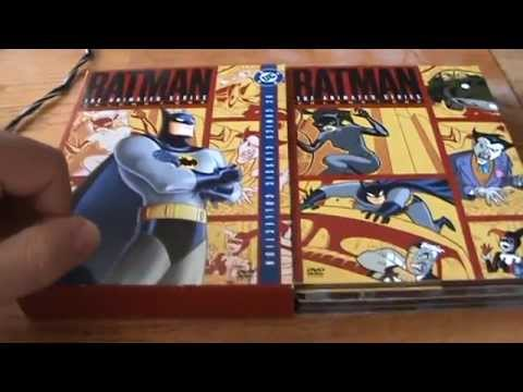 Batman: The Animated Series Volume 1 DVD Unboxing image