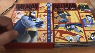 Batman: The Animated Series Volume 1 DVD Unboxing