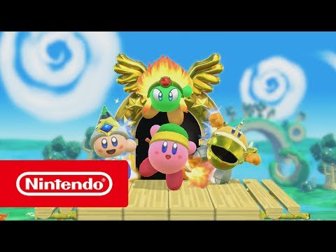 Kirby (working title) - E3 2017 Trailer (Nintendo Switch)