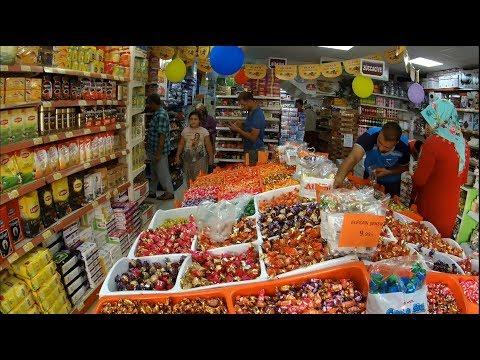 Турция Магазин с Дешевыми Ценами   Покупаю фрукты на рынке Конаклы