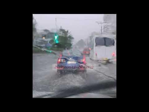 Затопленная дорога проспекте