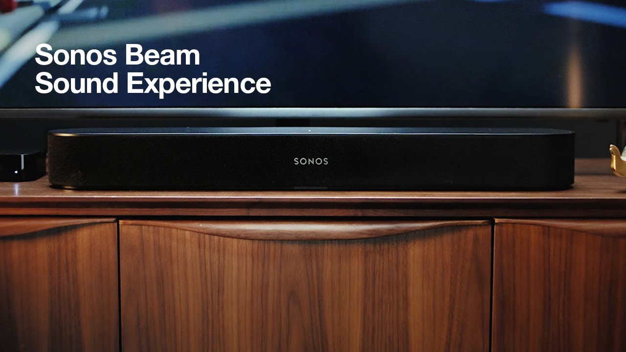 The Sonos Sound Beam Is An Alexa Enabled Sound Bar