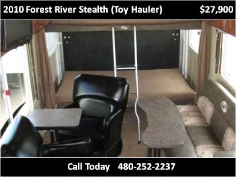 Used Cars Mesa Az >> 2010 Forest River Stealth (Toy Hauler) Used Cars Mesa AZ ...