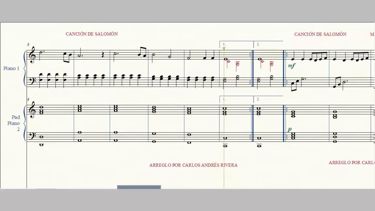 Los Pollitos Dicen Todos Los Patitos Partitura Facil Para Piano Youtube