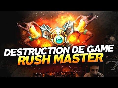 EXPLOSION DE GAME EN PLEIN RUSH MASTER