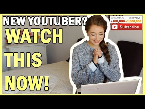 10 Things To Know Before Starting A YouTube Channel | What New/Small YouTubers NEED TO KNOW!
