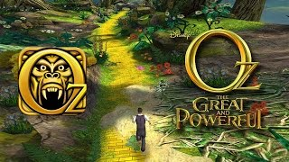 TEMPLE RUN: OZ - Endless Game - Gameplay / Review (iOS: iPhone / iPad, Android)