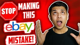 BIGGEST MISTAKE You're Making With eBay Dropshipping Suppliers in 2019
