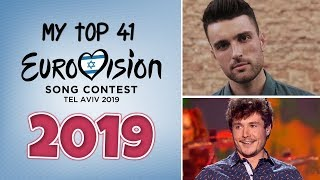 Eurovision 2019 | My Top 41