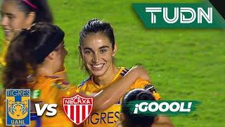 ¡Goool de Fernanda Elizondo! | Tigres 4 - 0 Necaxa | Liga MX Femenil - J 14 - AP 2019 | TUDN