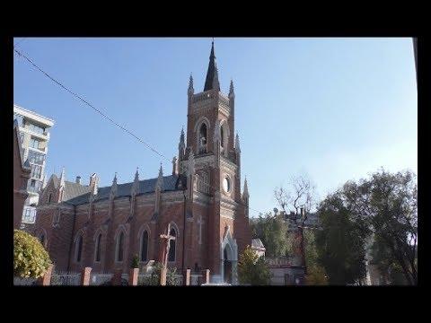 АТН Харьков: В Харькове на крыше соццентра при храме установили солнечную электростанцию 18.10.19