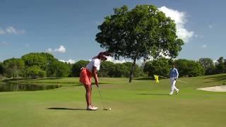 Règles de golf 2019 : Toucher la ligne de putt sur le green